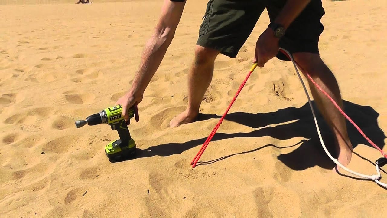 Large plastic Peggy Peg screwed into soft sand : sand tent pegs - memphite.com
