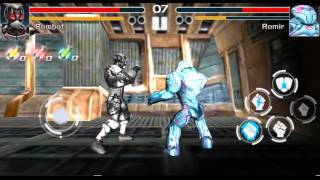 Fighting game: Steel avengers Android Gameplay