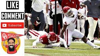 Oklahoma sooners spring football news & notes: rb trey sermon's leg