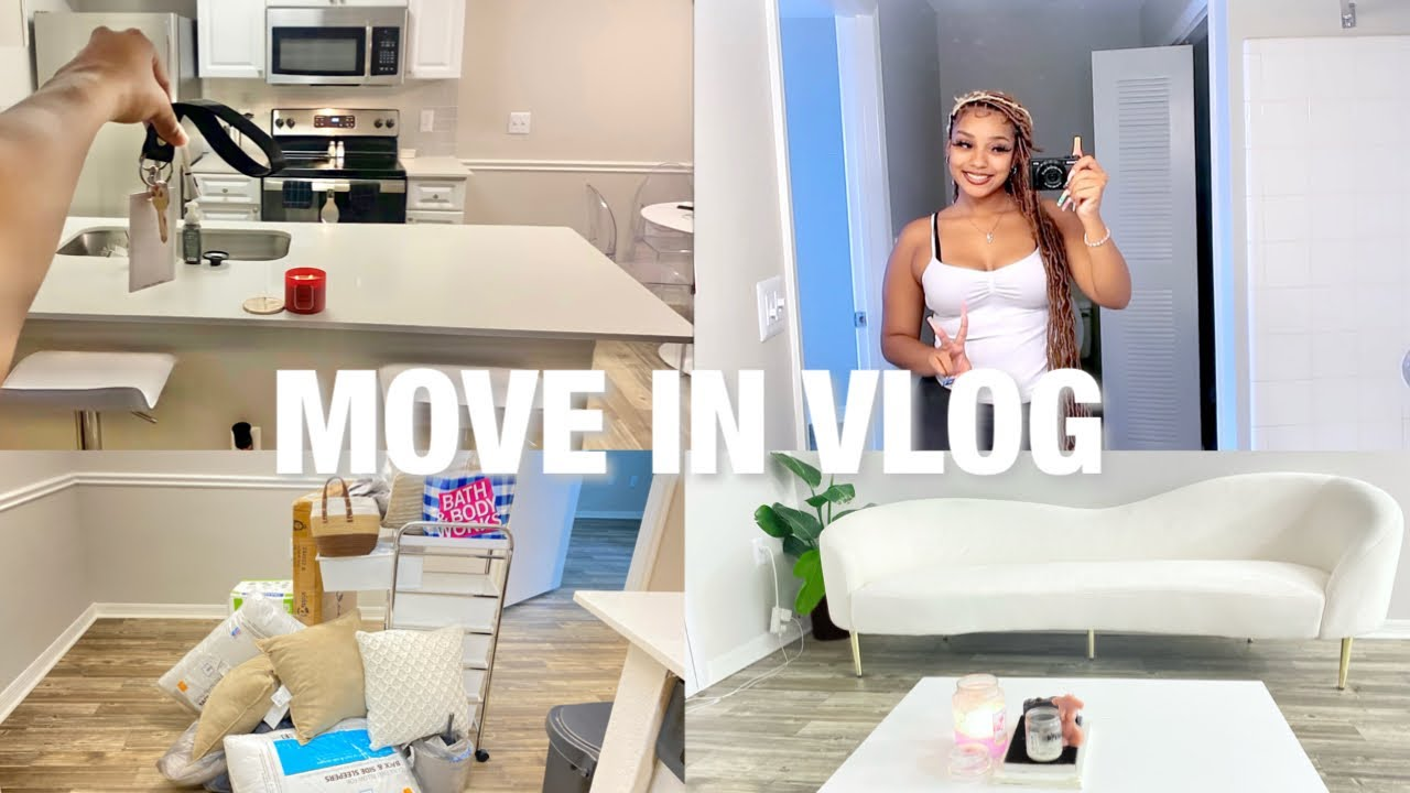 Download MOVING INTO MY FIRST APARTMENT AT 18 ( Empty Apartment Tour, Unpacking, Shopping, etc…)