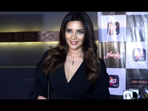 Shama Sikander Hot At New Web Series Four Play Launch By Alt Balaji