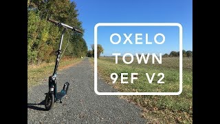 oxelo Town 9 EF V2 Adult Kick Scooter Review (2019)