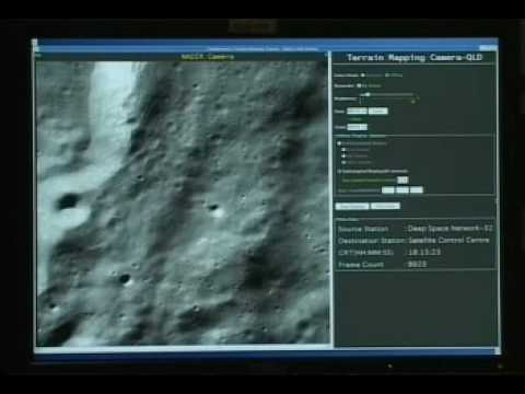 Chandrayaan-1 India - First Moon Video released by ISRO