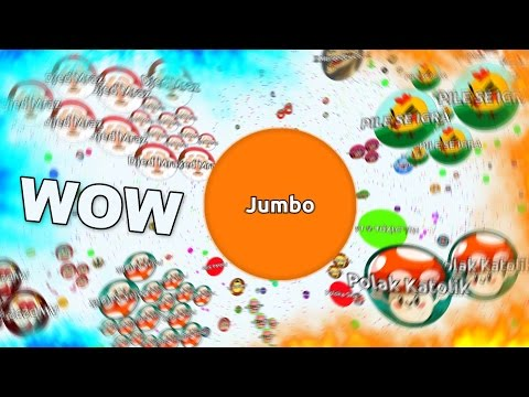 THE BIGGEST BALL IN AGARIO HISTORY !! ( The Most Amazing Agar.io Solo Gameplay Ever )