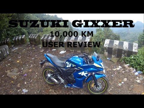 Suzuki Gixxer SF USER REVIEW   Gixxer   10,000 KM update   Honest review