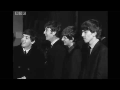The Beatles -  BBC News 16th Oct 1963