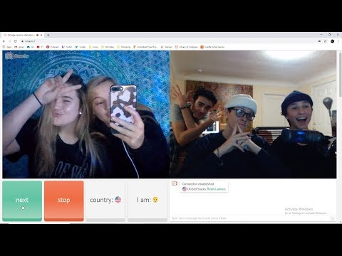 Is this the new Omegle?? - Ome.tv moments!