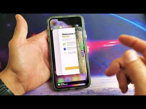 IPhone XS / XS Max: How To Close Background Running Apps Properly