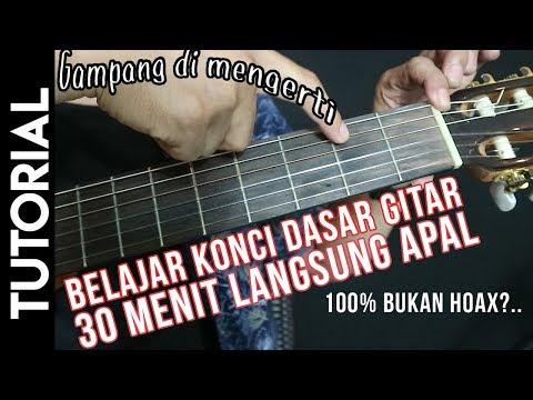 Tutorial Chord Gitar Untuk Pemula Paling Mudah