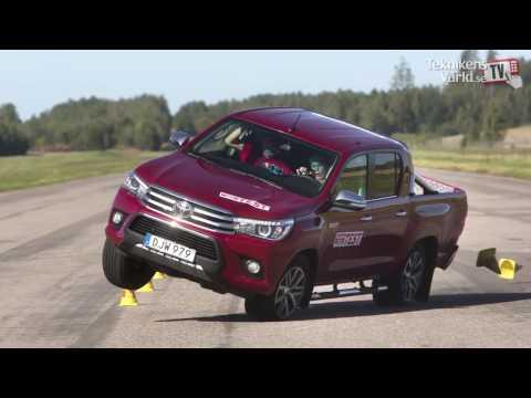 """Revo ซ้ำรอย..! Vigo สื่อนอกปล่อยคลิปทดสอบหักเลี้ยวกระทันหันของรถกระบะ 7 ค่าย ปรากฏผล """"Hilux Fail"""""""