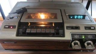 1978 Panasonic PV-1100 VHS VCR