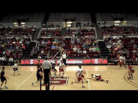 Men's College Volleyball: UC Irvine vs. Stanford Travel Video