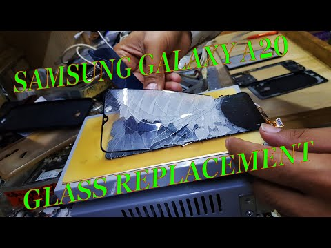 Samsung Galaxy A20 Glass Replacement