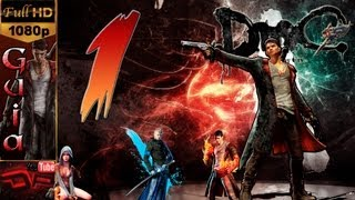 DmC: Devil May Cry Gameplay Walkthrough - Español Parte 1 | Mision 1 Cazado |Guia Walkthrough PC Max-Settings 1080p