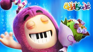 PECULIAR PIANO PERFORMANCE | NEW | The Oddbods Show