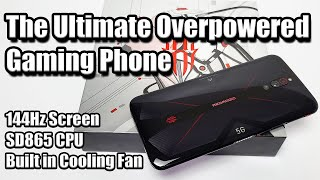 Red Magic 5G The Ultimate Overpowered Android Gaming Phone! 144Hz Screen-SD865