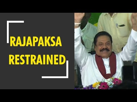 Breaking News: Sri Lankan court restrains Mahinda Rajapaksa from acting as PM