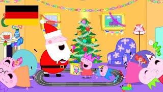 Peppa Pig Deutsch 🇩🇪 | Zusammenstellung von Folgen | Weihnachten 4K! | Peppa Wutz #PPDE2018