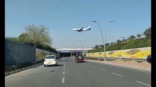 Driving In Delhi (IGI Airport T3 Tunnel - Aerocity) || Delhi Airport Road