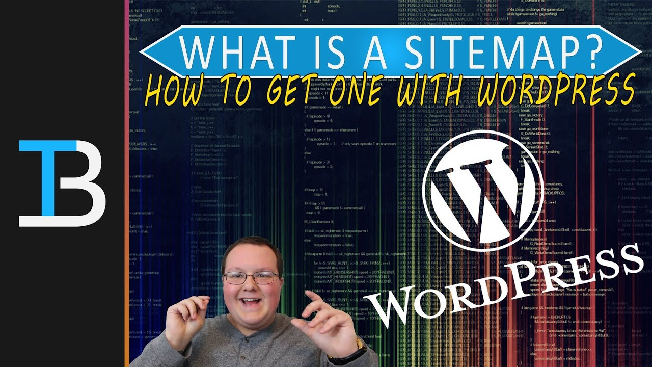 what is a sitemap how to get a sitemap in wordpress youtube