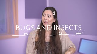 Weekly German Words with Alisa - Bugs and Insects