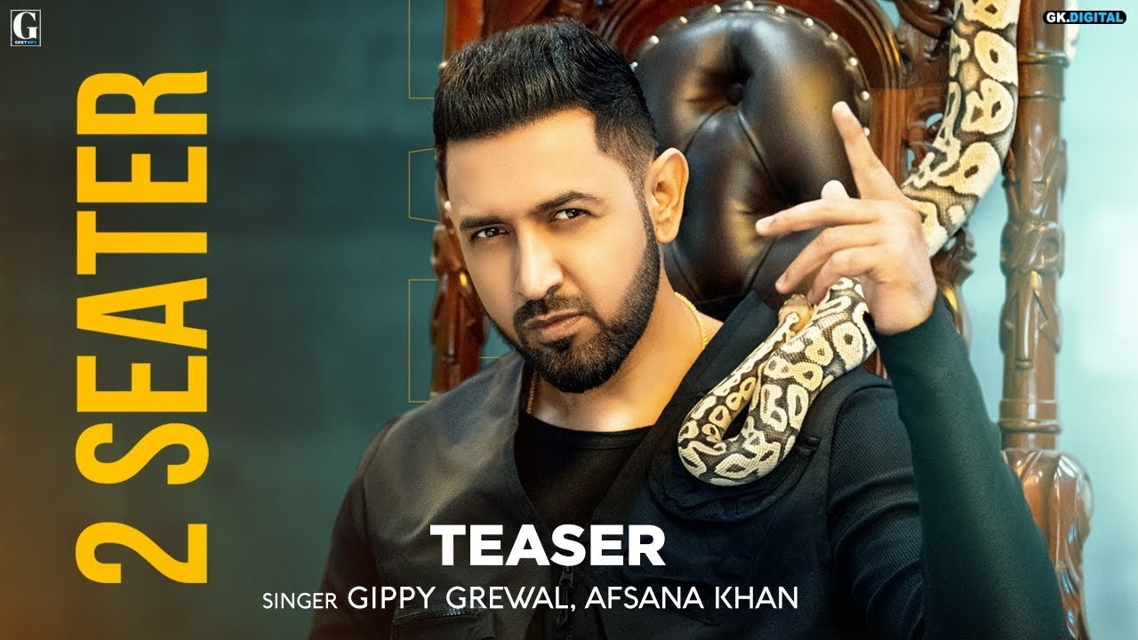 2 Seater : Gippy Grewal (Teaser) Afsana Khan | Amrit Maan | New Punjabi Songs | Geet MP3