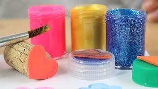DIY - Kreatywne Czwartki - Jak Zrobić Pieczątki? - Zrób to Sam! - Kreatywne Zabawki