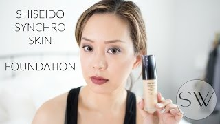 Shiseido Synchro Skin Lasting Liquid Foundation Review #TesterTuesday