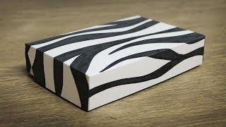 DIY Paper Box with lid - Box Making Ideas