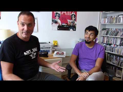 ART WAR director Marco Wilms and artist Ganzeer discuss a revolution through art