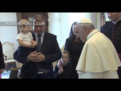 Pope meets with the Prime Minister of Lithuania