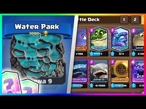 OMG! NEW WATER ARENA CONCEPT! | JUNGLE & TITAN ARENA LEAKED FOR NOVEMBER! CLASH ROYALE LEAK 2016!