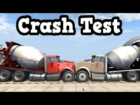 BeamNG Drive Update 0.4.1.0 - Truck Crash Tests