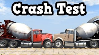 BeamNG Drive 0.4.1.0 - Truck Crash Test Simulation