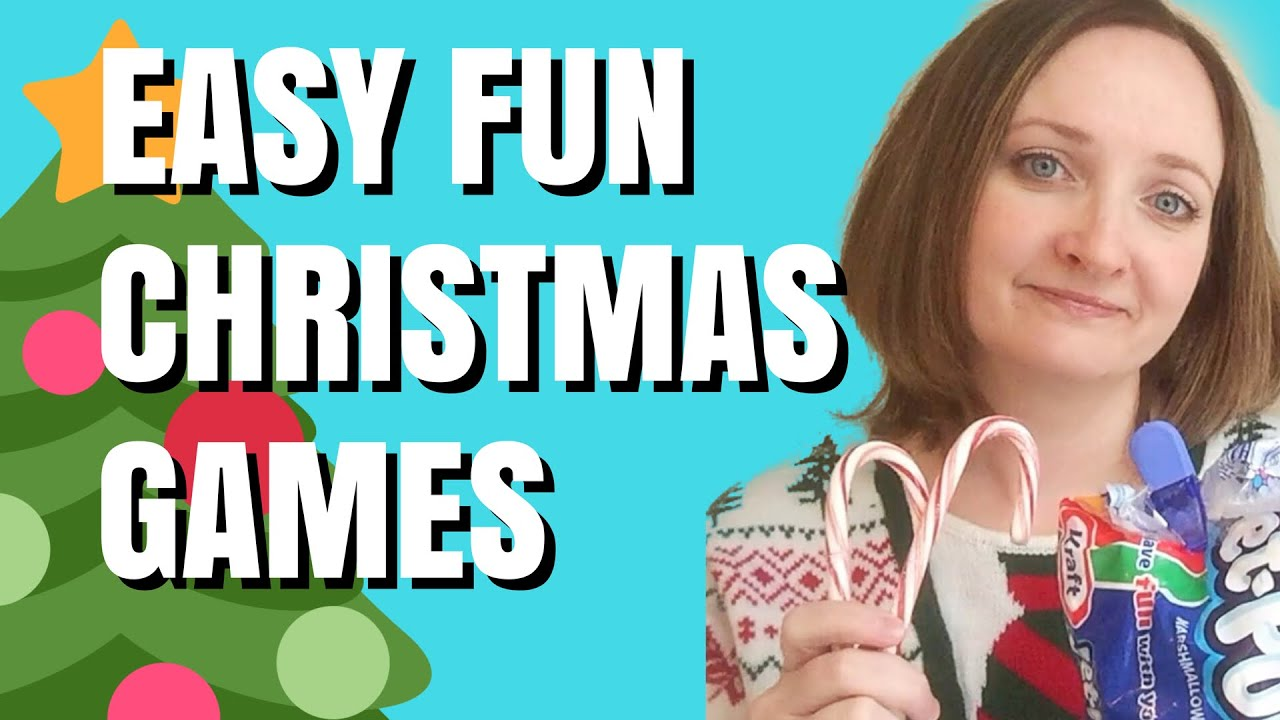 Easy Christmas Games For Parties Last Minute Ideas Youtube