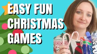 Easy Christmas Games for Parties | Last Minute Ideas