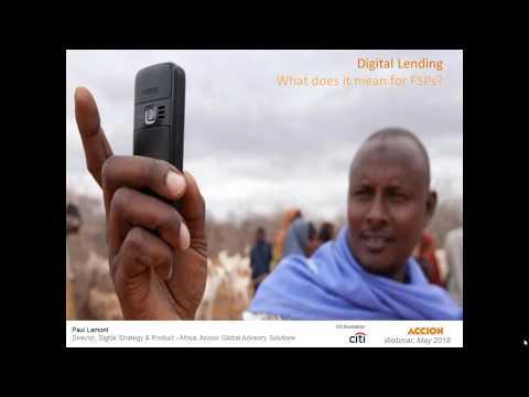 Demystifying Digital Lending Webinar - 5/8/2018