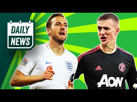 Jordan Pickford to replace De Gea, AMAZING Kane + Wenger Twitter madness ►Onefootball Daily News