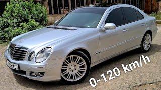 0-120 km/h: W211 E350 V6