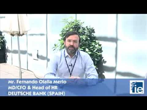 Fernando Olalla Merlo, CFO & Head of HR at Deutsche Bank  - Global Senior Mgmt Program