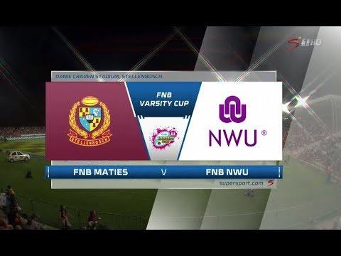 FNB Varsity Cup Final | Maties vs NWU