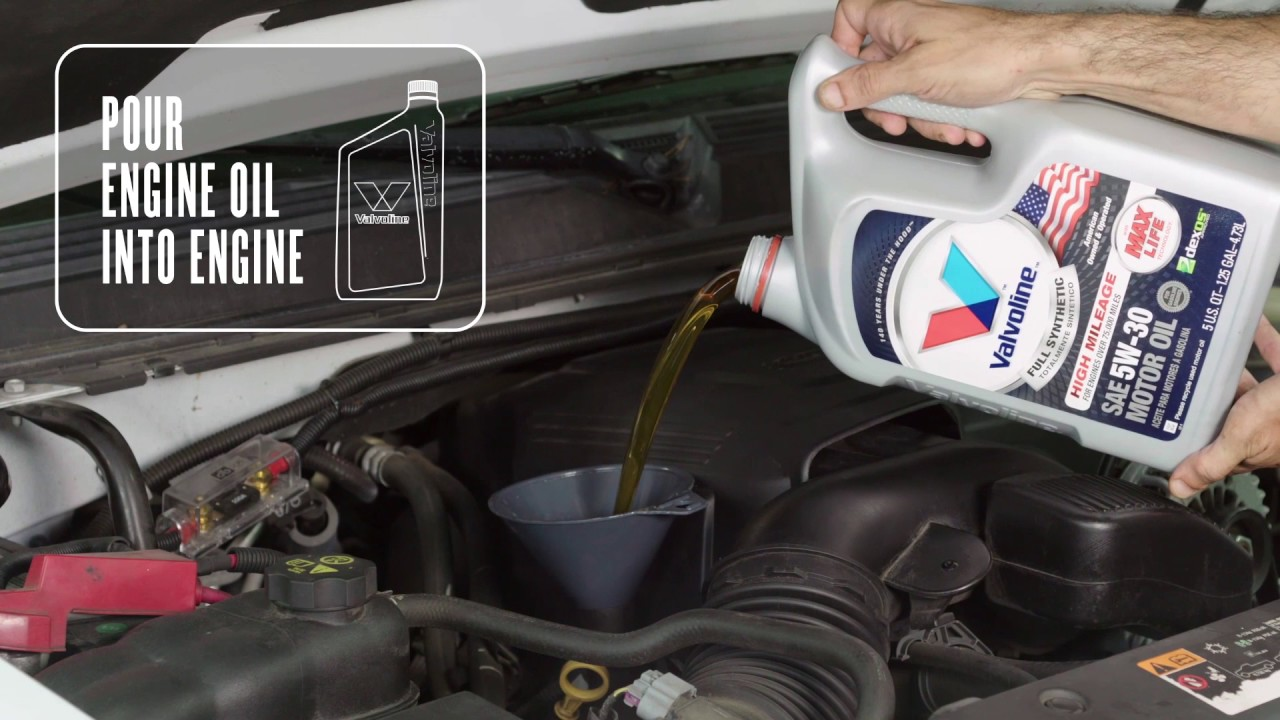 How To Change The Oil In A Chevrolet Tahoe