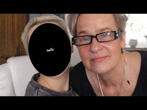 MOM DOES MY MAKEUP (well her makeup routine on my face idk it's a mess)