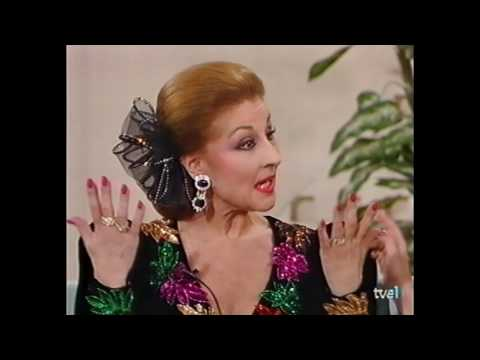 Gracia Montes. Actuación y entrevista en el programa «Pasa la vida» 1993
