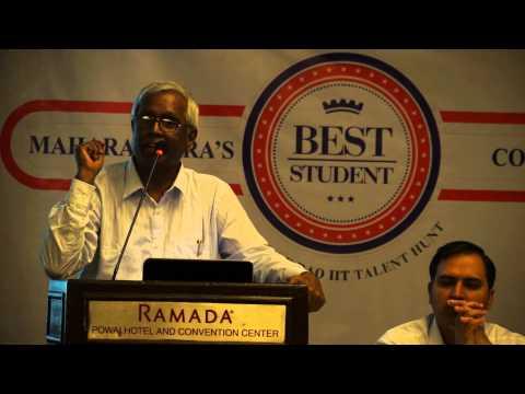 Motivational speech from Dr. B. V. Rao (Chairman, Rao IIT Academy)