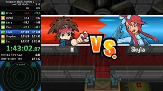 Pokemon White 2 Any% Speedrun in 3:12:35 [Current World Record]