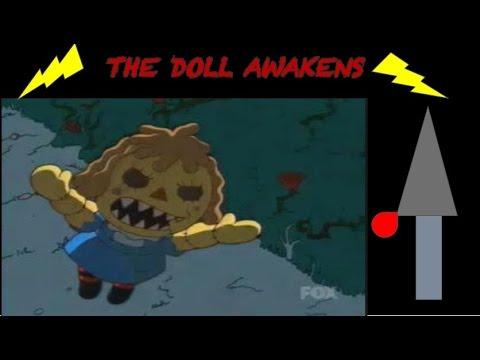The Simpsons Short Horror Movie: The Doll Awakens