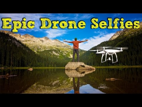 Greatest Drone Selfie Ever! 50+ Countries in 4 Years - in 4K