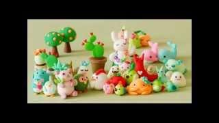 Какие игрушки можно сделать из СОЛЕНОГО ТЕСТА! What toys can be made from SALT DOUGH!