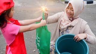 Drama Buaya Ajaib Part 2   Parodi anak anak lucu   Salsa and family